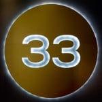 número maestro 33