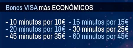 Bonos VISA económicos